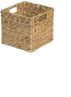Woven Large Basket Cube Storage Shelves, Container Organizer, Bin Home