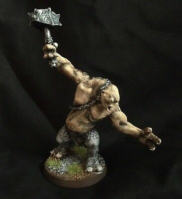 Games Workshop Lord of the Rings Miniatures Cave Troll with Hammer