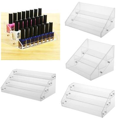 MagiDeal Nail Polish Acrylic Clear Makeup Display Stand Rack Organizer Holder
