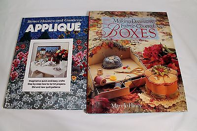 Lot of 2 Decorative Painter and Artistic Books Applique FREE SHIPPING!