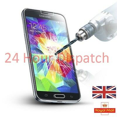 100%Genuine Tempered Glass Screen Protector For Samsung Galaxy S5  {fw367