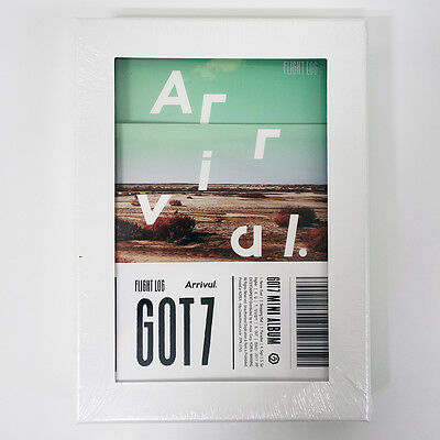GOT7 - FLIGHT LOG : ARRIVAL [Ever ver.] CD+Photobook+Log Book+Poster+Free Gift