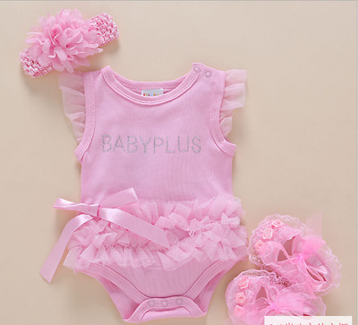 "22"" Reborn Baby Doll Newborn Clothes + Headdress + Shoes"