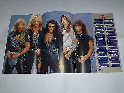 RATT Pin-up Calender Poster ! from Japan Magazine  !!