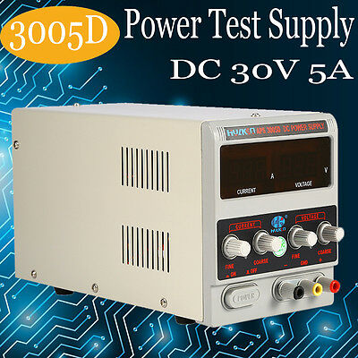 Adjustable DC regulated Power Supply digital power transformer laboratory 30V 3A