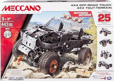 NEW Meccano 25 Model Set - 4X4 Off Road Truck from Mr Toys