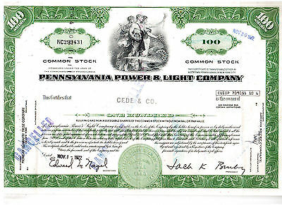 Pennsylvania Power & Light Company 1972