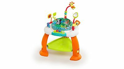 Bright Starts Bounce Bounce Baby with Toys and Fun Sounds, Make Baby Laugh