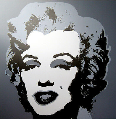 ANDY WARHOL Pop Art - Sunday B Morning - Marilyn Monroe 11.24 Screen print + COA