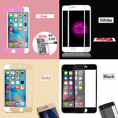 Full Cover Tempered Glass Film Screen Protector For Apple iPhone 5 5S 5C SE
