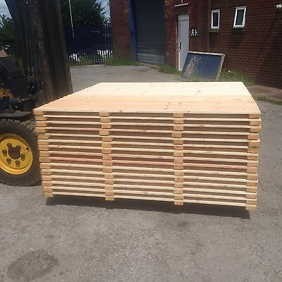 Featheredge fence panel 6 x 5 heavy duty