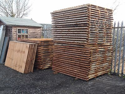 Featheredge fence panel 6 x 5 standard all sizes available