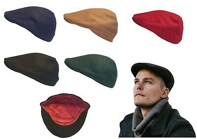 MENS FLAT CAP WOOL VINTAGE GATSBY BAKER BOY NEWSBOY CABBIE G and H great horse