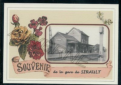 SIRAULT..... gare  souvenir  creation moderne serie limitee numerotee