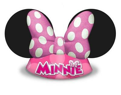 Minnie Mouse Happy Helpers Die Cut Party Hats x 6