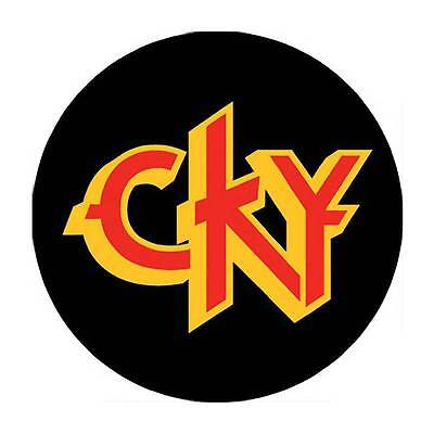 Parche imprimido /Iron on patch, Back patch, Espaldera /- CKY, C