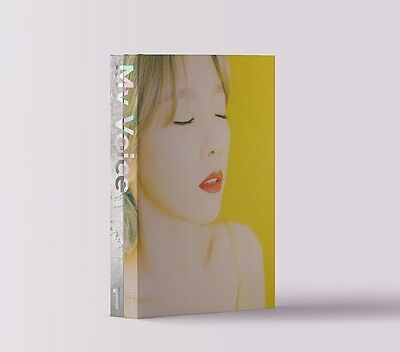 SNSD TAEYEON - MY VOICE (1st Album) I Got Love Ver, CD+Booklet+Photocard+Poster