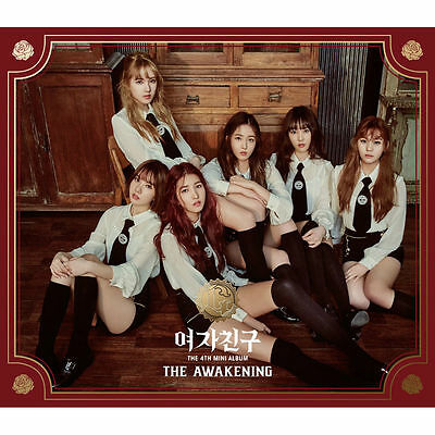 GFRIEND - THE AWAKENING (4th Mini Album) Knight Ver. CD+Booklet+Photocard+Poster