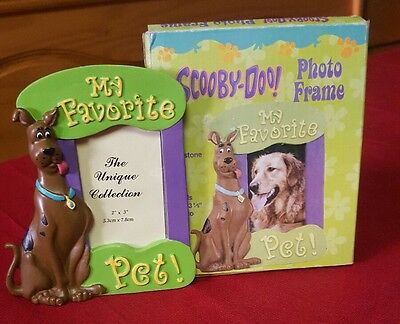 """Hanna-Barbera Scooby Doo 2X3 Picture frame """"My Favorite Pet!"""""""