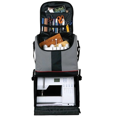 Rolling Upright Arts and Crafts Tote Bag Sewing Machine Storage Traveling Artist