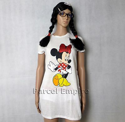 FREE NEXT-DAY Official Disney MINNIE MOUSE Girls T-Shirt Present Gift UK Mickey