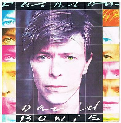 DAVID BOWIE Fashion / Scream like a baby RCA BOW 7 Classic pop from 1980