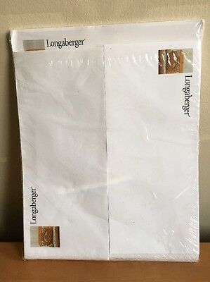 Longaberger Stationary & Envelope Set - New In Original Package