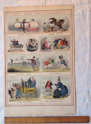 Caracature Annual The Looking Glass 1832 . Duke Of Wellington