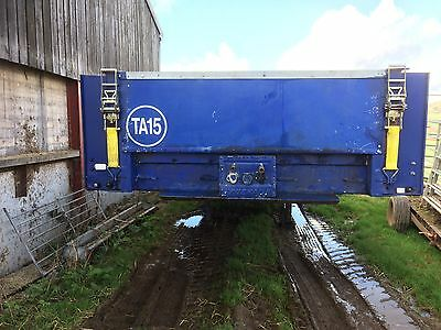 Trailer 45ft Tri-axle Flat Bed