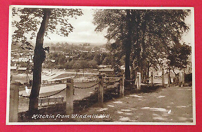 Hertfordshire - Hitchin from Windmill Hill, PC Local Pub. M. W. Wakenell, Unused