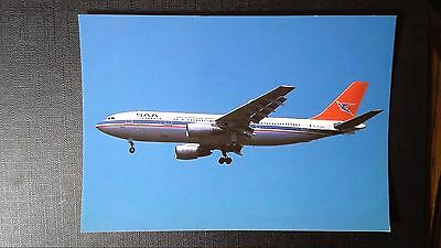 Cpm South African Airways Airbus A.300B2 Johannesbourg 1989