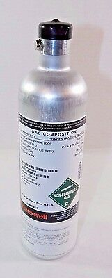 Honeywell Calibration Gas Cylinder, 3.4L, Aluminum, 500 psi, 113774-L, 1542LIO2