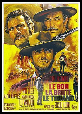 The Good The Bad And The Ugly 2  Poster Greatest Movies Vintage Classic Cinema
