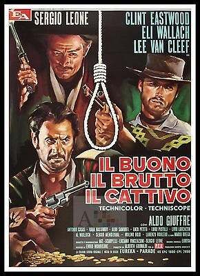 The Good The Bad And The Ugly 6 Poster Greatest Movies Vintage Classic Cinema