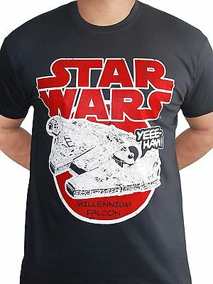 STAR WARS inspired Han Solo Shipping Logistics Millennium Falcon t-shirt 9408