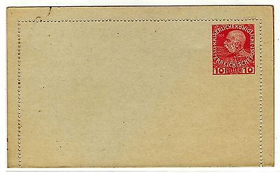 1900ca Austria - Osterreich post - 10 heller - not used