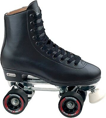 Chicago Men's Leather-Lined Rink Skate, Size 7