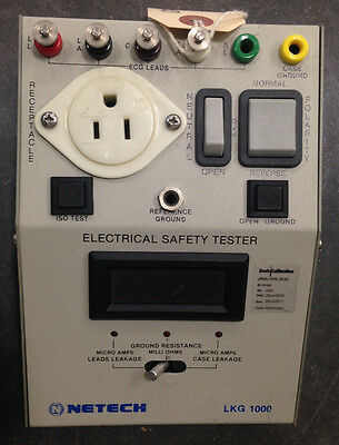 Netech LKG 1000 Electrical Safety Tester