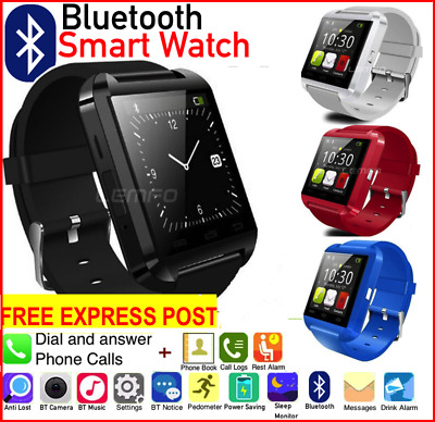Bluetooth SmartWatch Touch screen Smart Watch Phone  for IOS Android IPhone