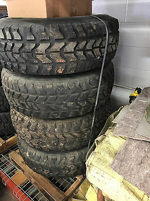 Military HMMWV Wheels and Tires