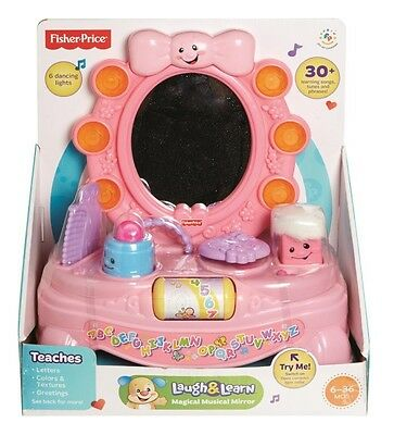 NEW Fisher Price Laugh And Learn Magical Musical Mirror from Mr Toys