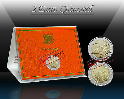 "VATICAN 2 EURO 2016 "" Corps of Vatican City State "" Commemor. coin (CoinCard) BU"