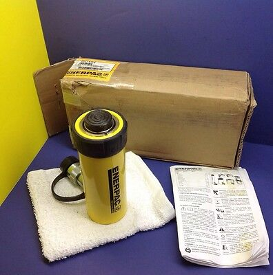 ENERPAC RC-154 Hydraulic Cylinder NEW! 15 tons, 4in. Stroke DUO Series