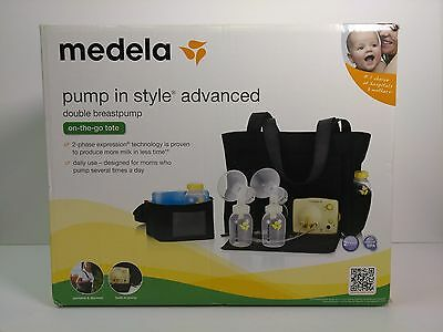 NEW SEALED Medela Pump In Style Advanced Double Breast Pump On The Go Tote 57063