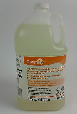 Diversey Dry Foam Shampoo & Encapsulating Cleaner 1 bottle (BP92017) -Free Shipp