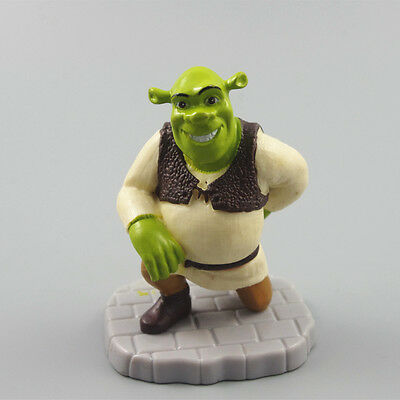 Shrek with fingers behind back pvc toy figure cake topper figurine