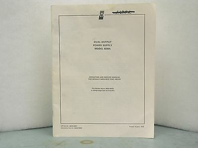 HP 6234A DC Power Supply User & Service Manual
