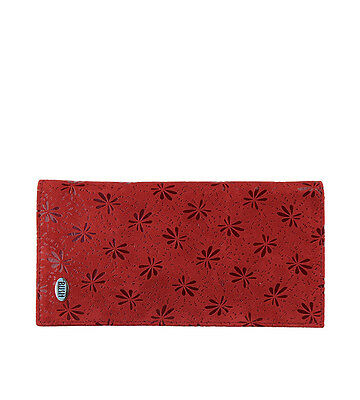 Floral Kangaroo Leather Clutch R