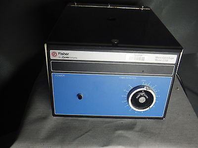 Fisher Scientific 235B Micro-Centrifuge TableTop Centrifuge 20 Position Rotor