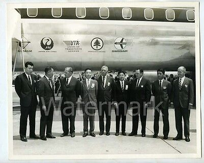 Vintage 8x10 photo  Japan Air Lines Donald  Douglas Sr. DACO Aircraft Airplane